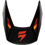 Козырек для мото шлема SHIFT WHIT3 HELMET VISOR [MT BLACK]