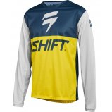 Мото джерси SHIFT WHIT3 LABEL GP LE JERSEY [NVY/YLW]