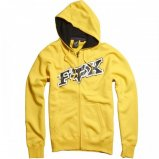 Толстовка FOX Up Against Zip Front Fleece [YELLOW]
