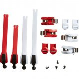 INSTINCT STRAP/BCKLE/PASS KIT [RED]