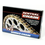 Цепь мото Renthal R1 - MX Works Chain 520-118L