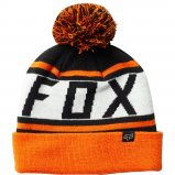 Шапка FOX THROWBACK BEANIE [BLK/ORG]
